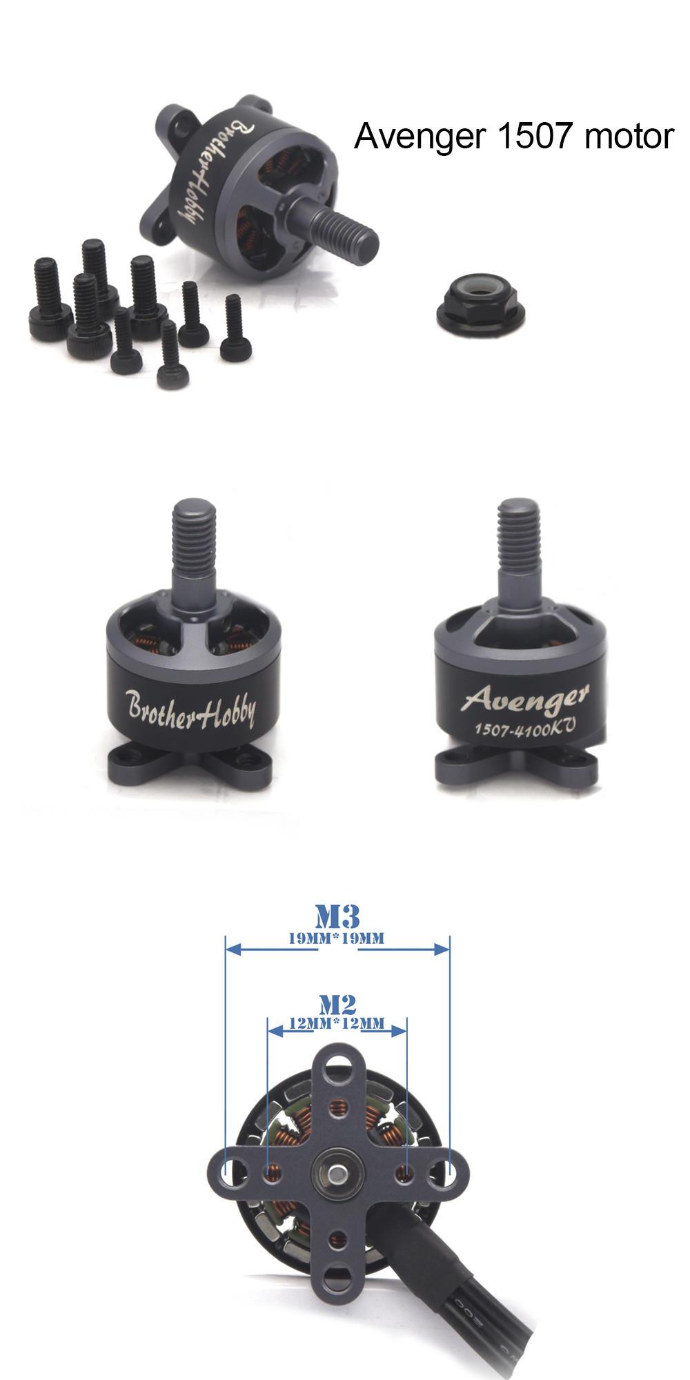 Brotherhobby Avenger 1507 3600kv Motor