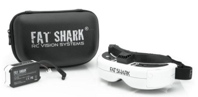 Fat Shark HDO FPV Goggles kit contents