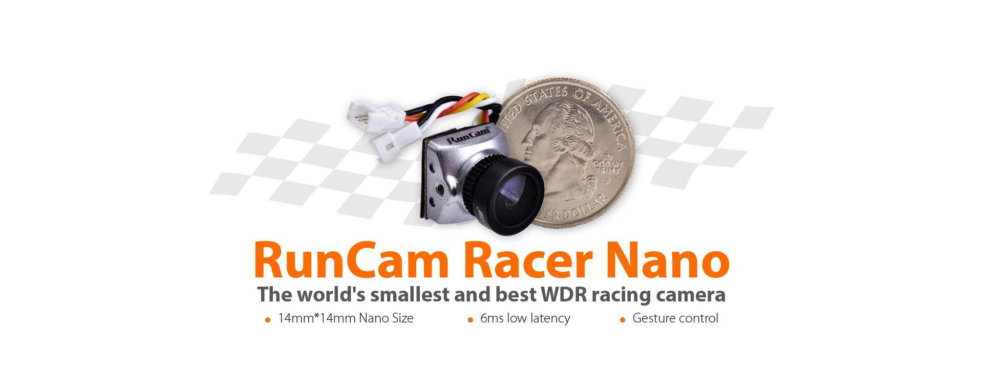 runcam racer nano size
