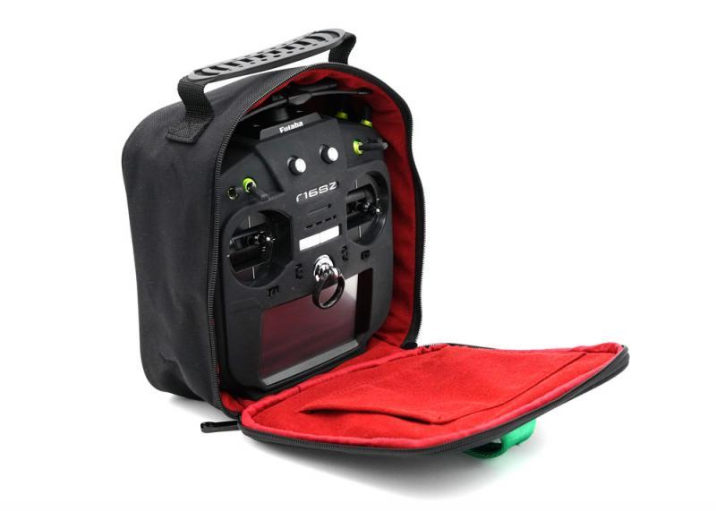 Ethix Transmitter Bag V2 with futaba radio