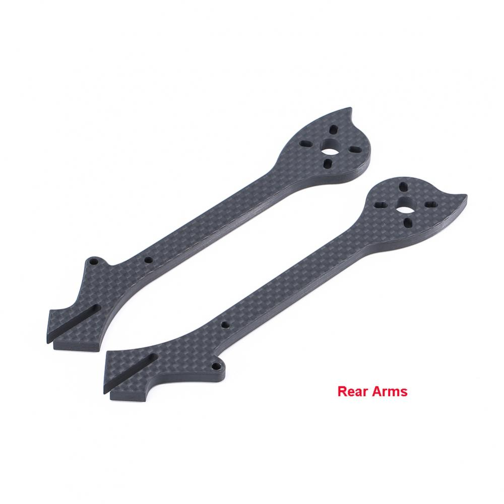DC5 HD Frame Replacement Arms Front and Rear