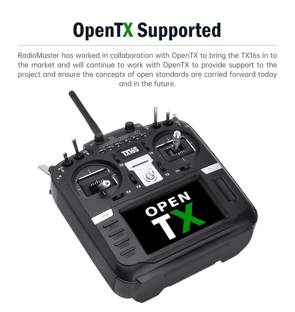 specs 3 OpenTX supported