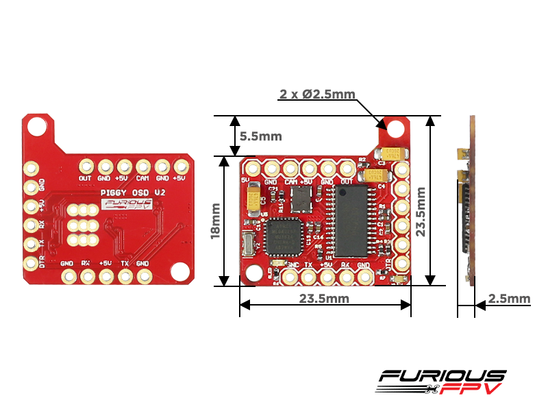Furious piggy osd v2