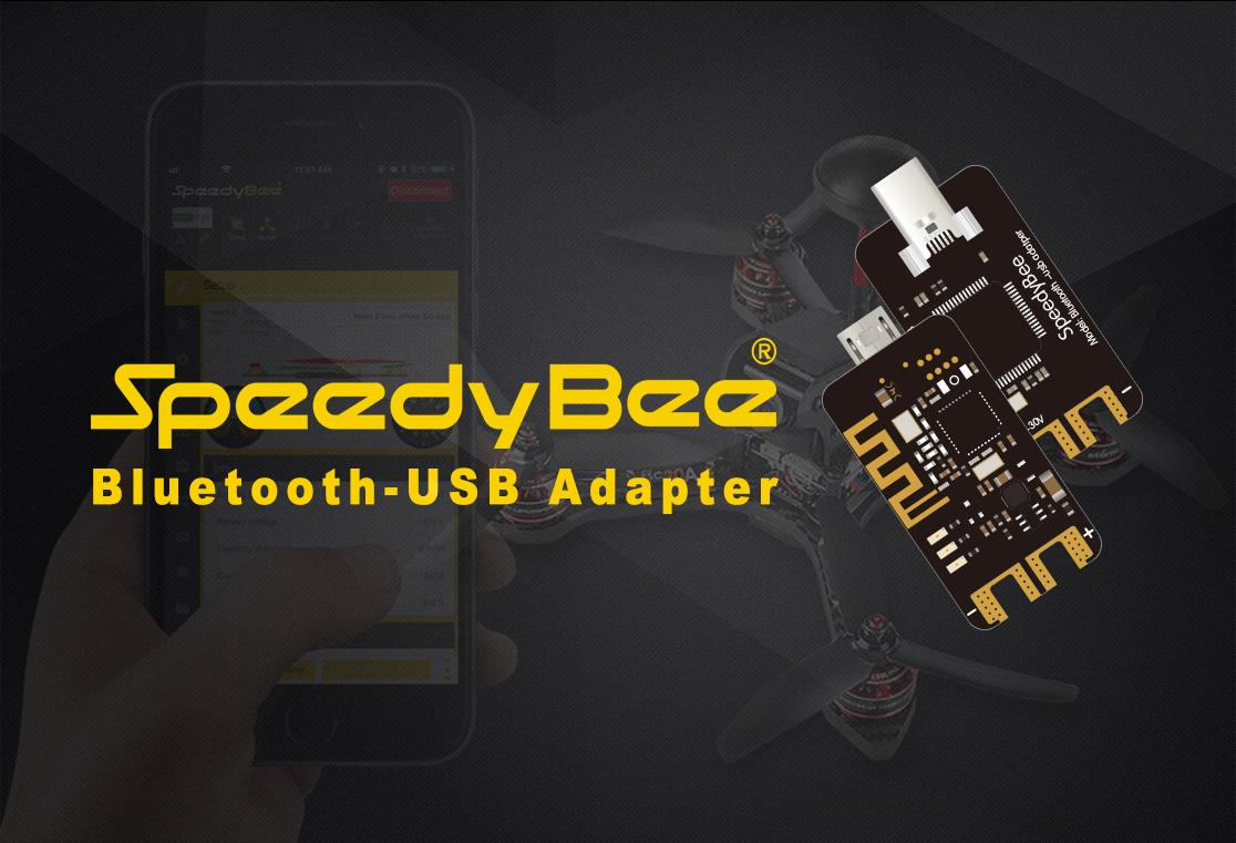 SpeedyBee Bluetooth USB Adapter for Betaflight Apple and Android