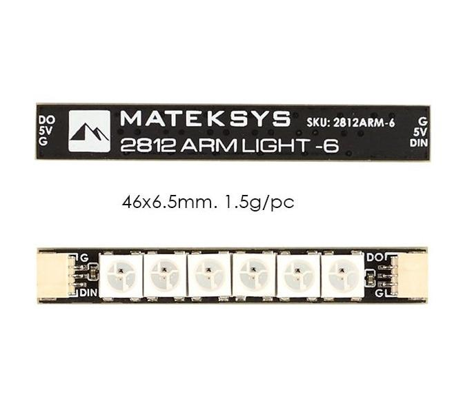 Matek 2812 6 RGB Arm LED (pack of 4)