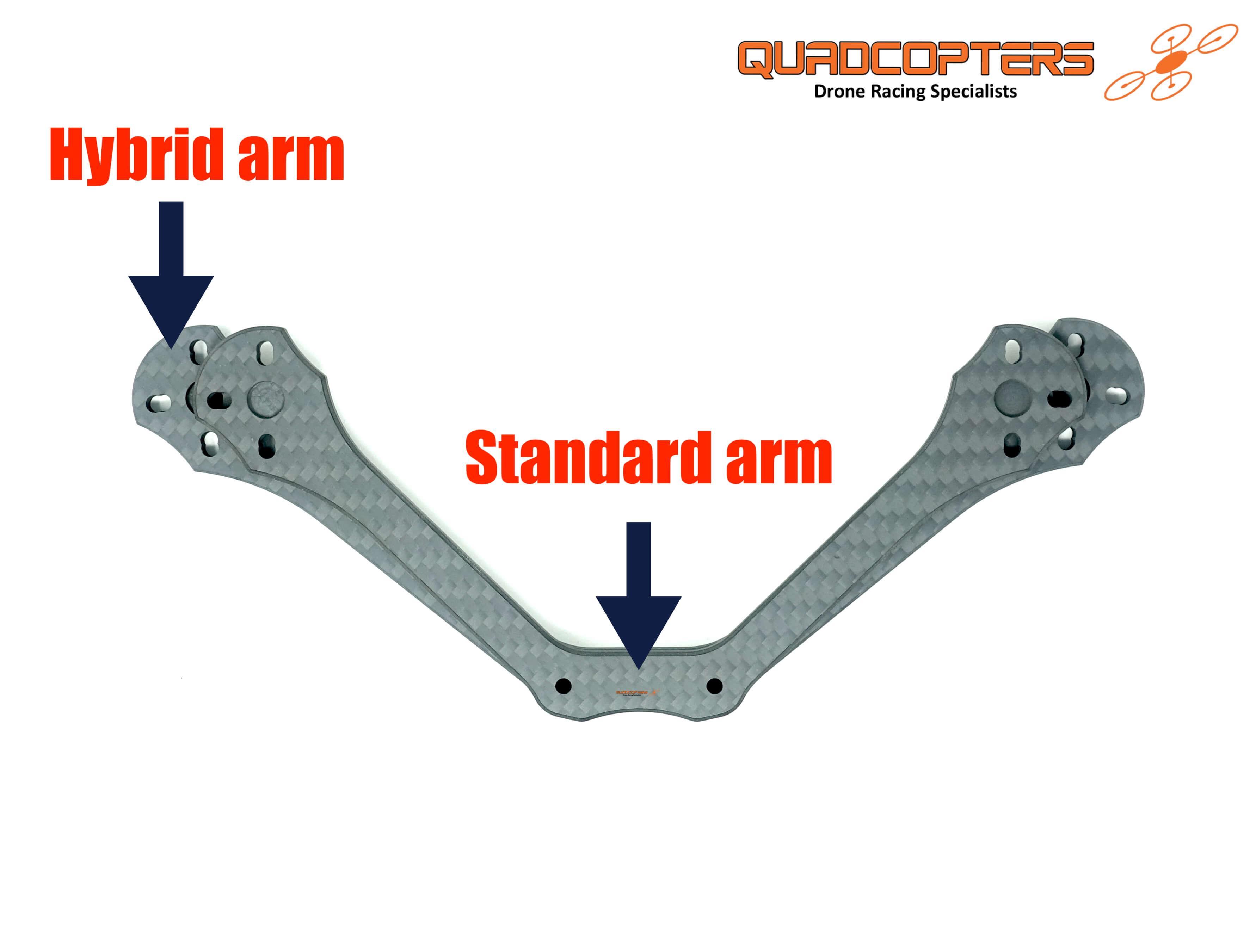 Charrycraft stamina hybrid arm comparison