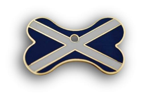 Scottish pet tag bone