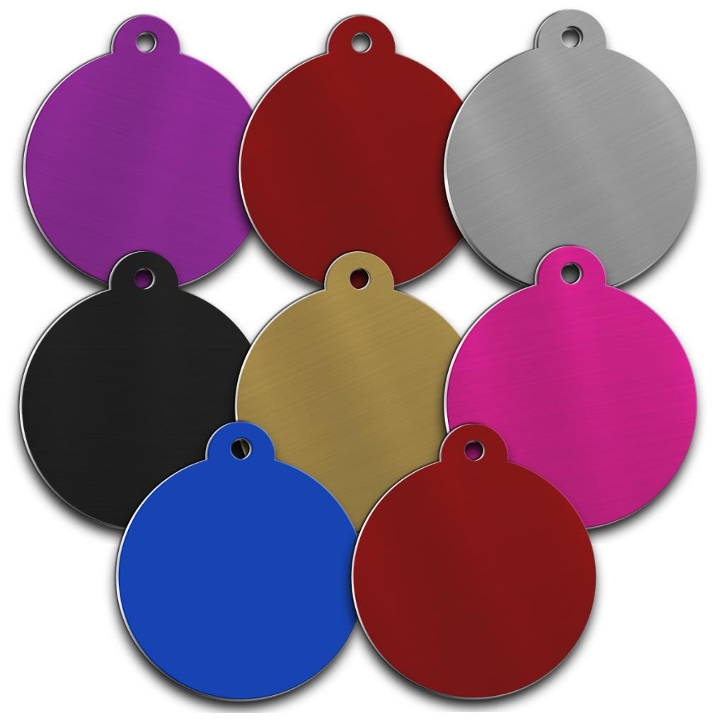 Aluminium pet tag with tab