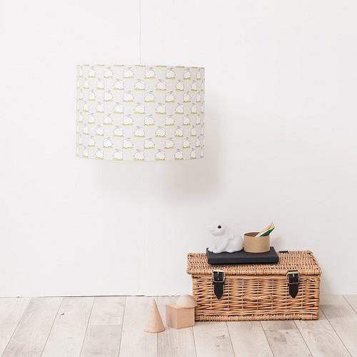 grey scandi bunny lampshade