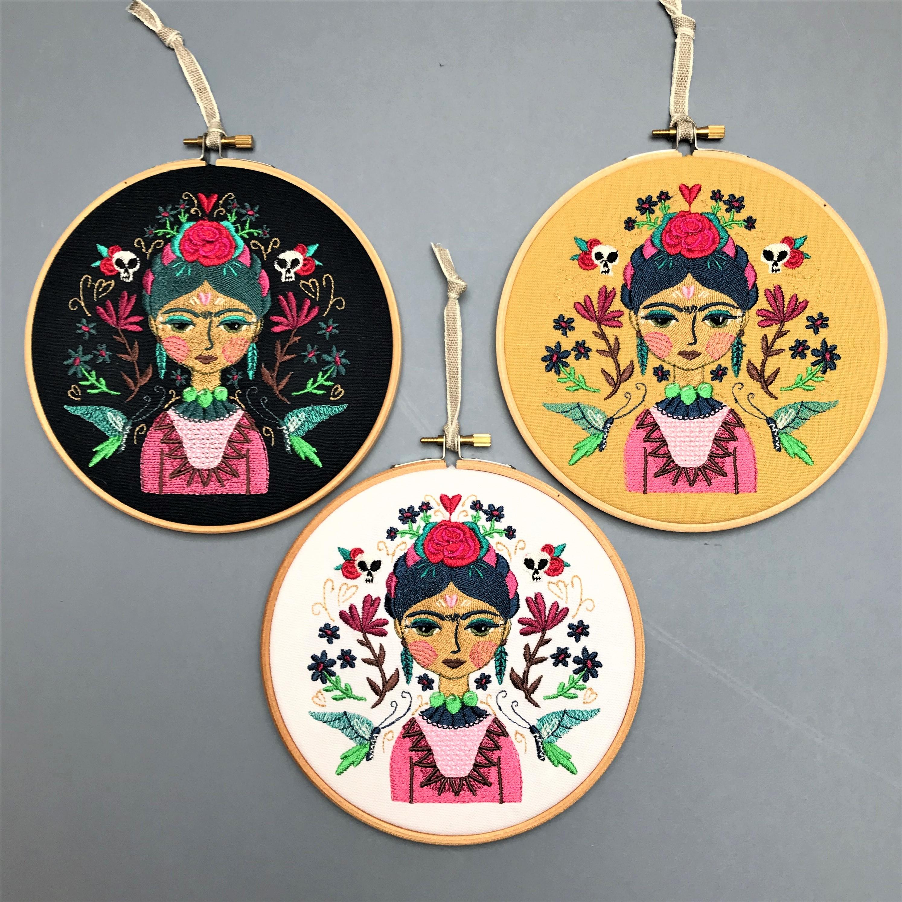 Mexican embroidery hoop