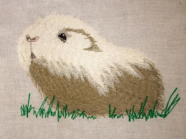 Machine embroidery designs by doodle threads milo the