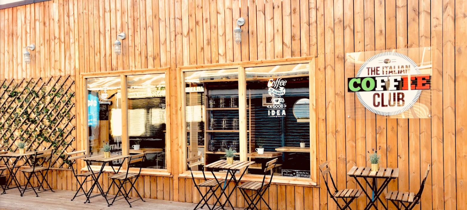 The Italian Coffee Club in Shepherds Bush London