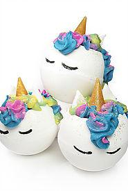 Stand Out from the Crowd with these Unicorn Bath Products