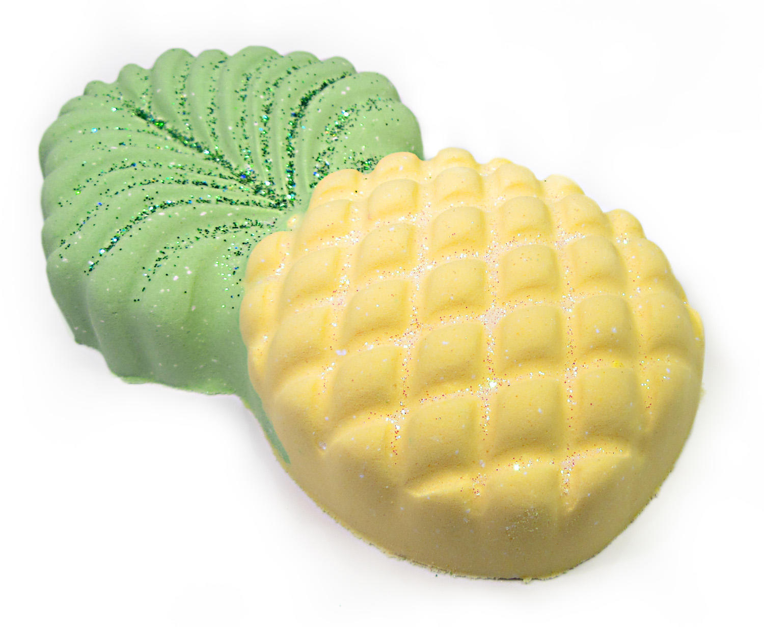 pinapple bath bomb