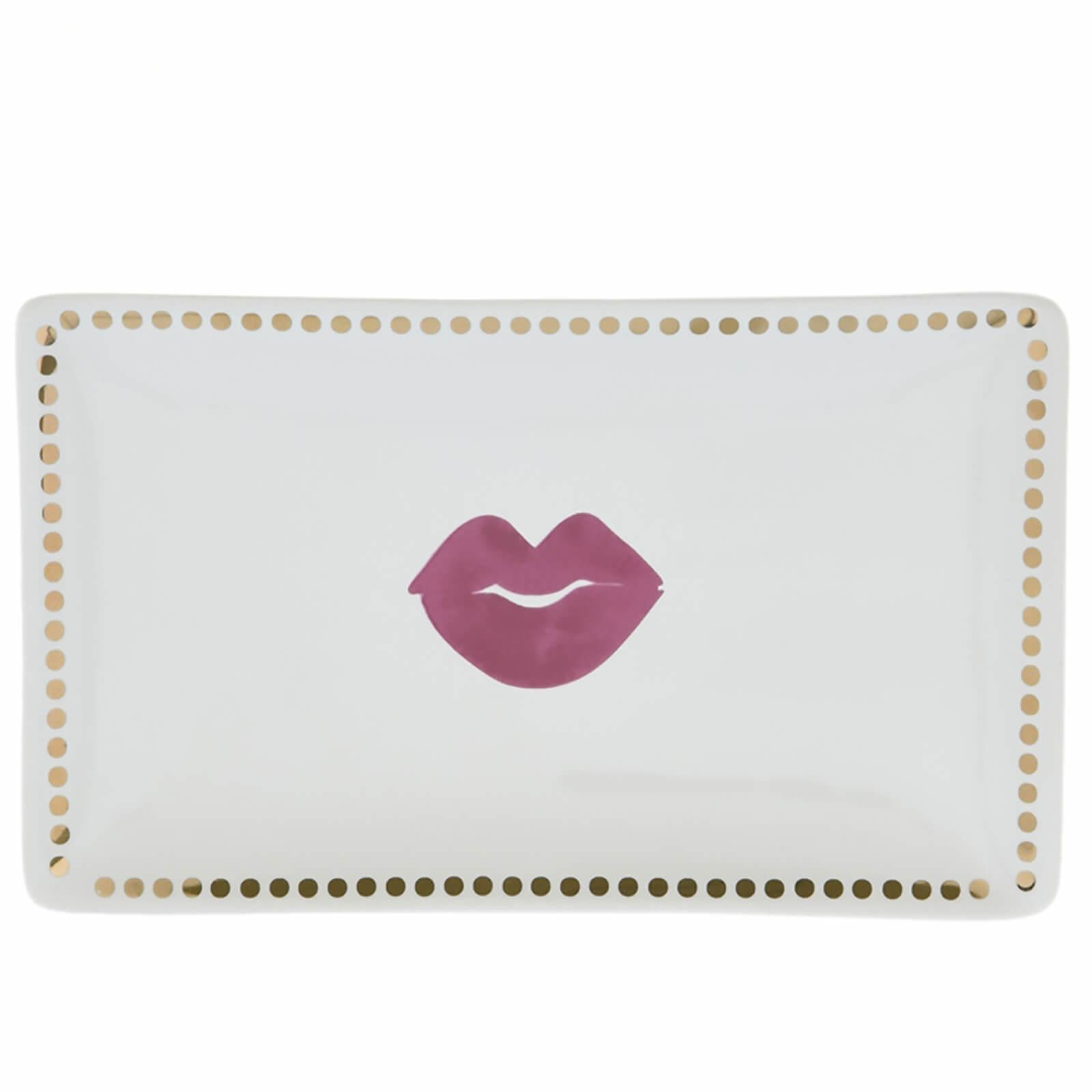 candlelight lips soap dish