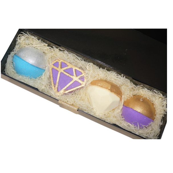 luxury bath bomb gift set