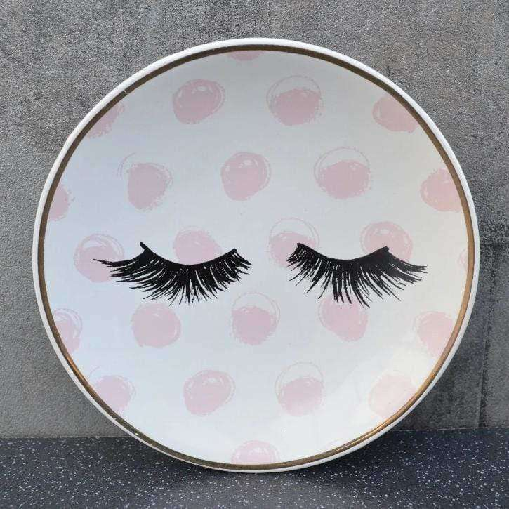 candlelight eyelash soap dish