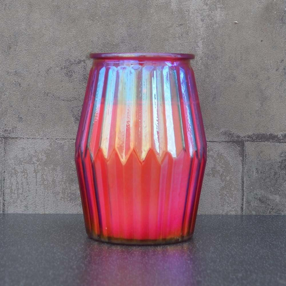 candlelight spiced Pomegranate candle