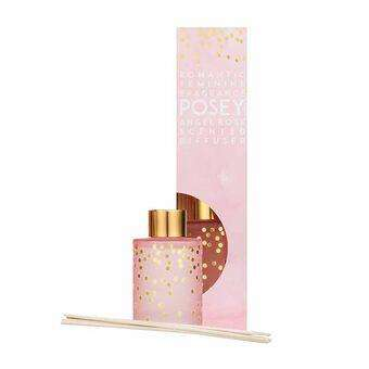 candlelight angel rose reed diffuser