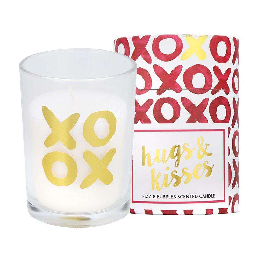 candlelight hugs and kisses candle