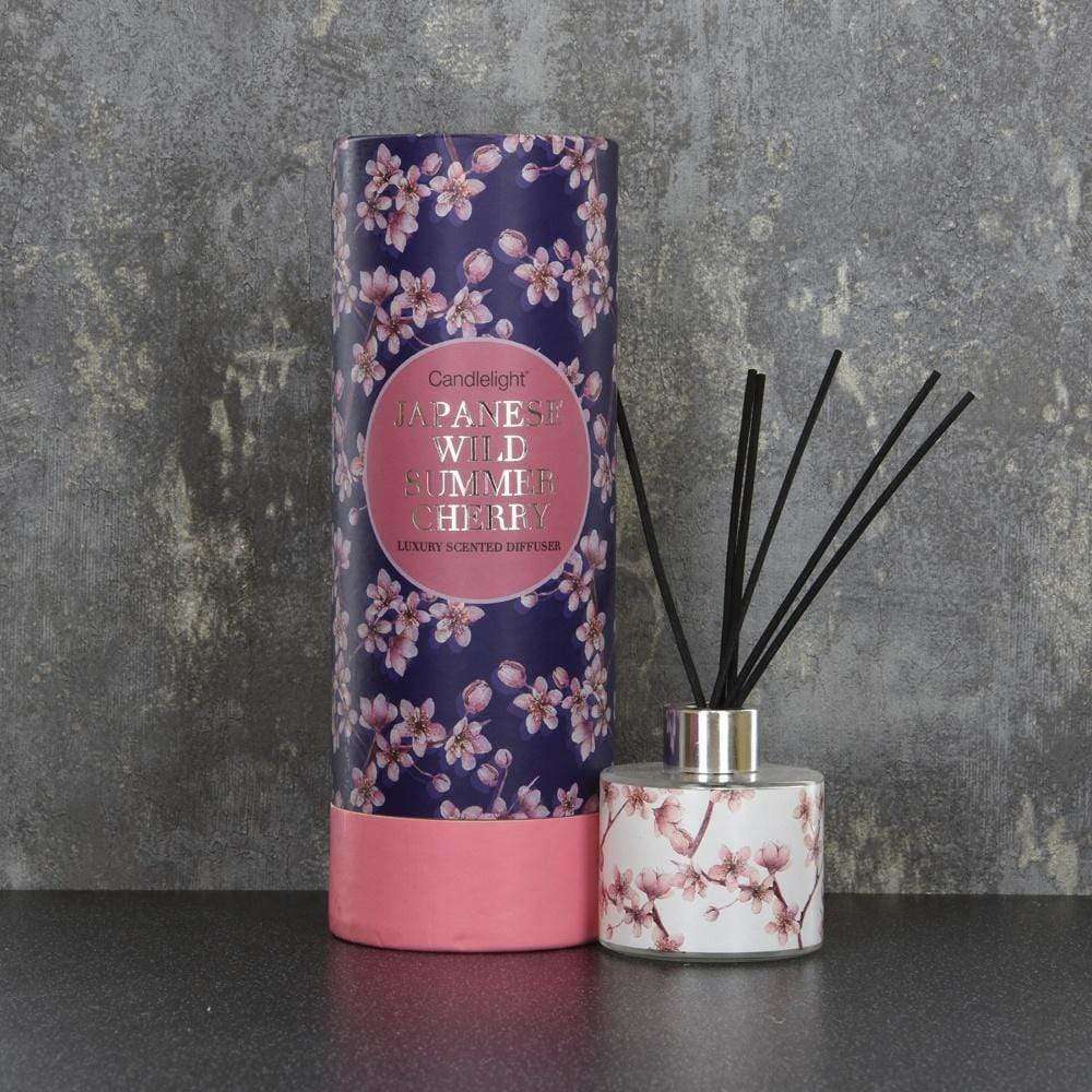 candlelight Japan reed diffuser