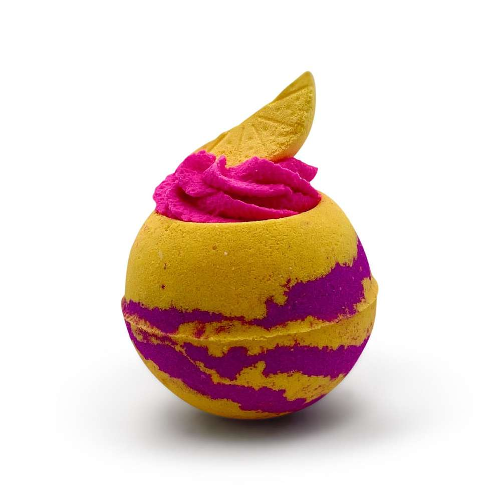 pink lemonade bath bomb uk
