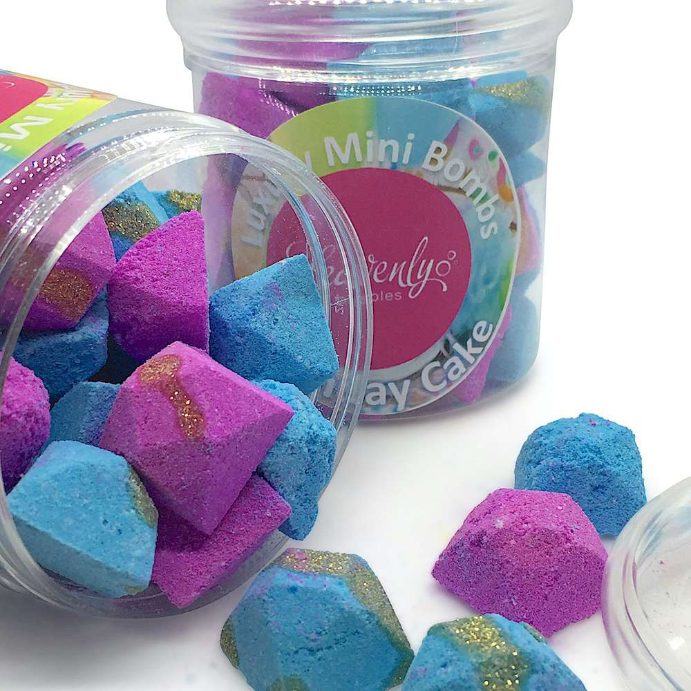 luxury mini bath bombs