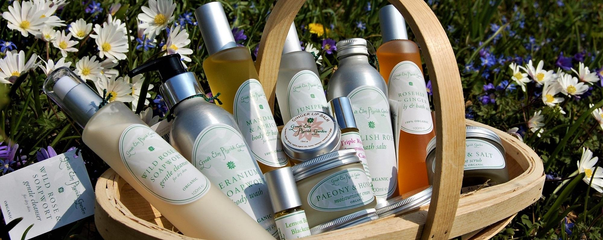 Great Elm Physick Garden organic herbal skincare. Beautifully simple. COVID 19: OUR ONLINE SHOP IS OPEN