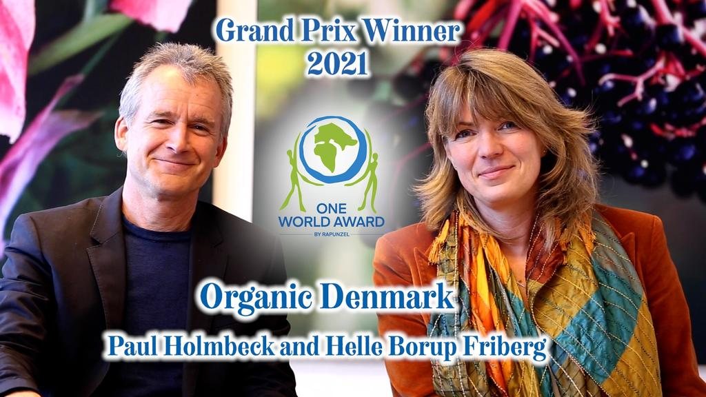 ONE WORLD AWARD: Organic Denmark wins prestigious international award