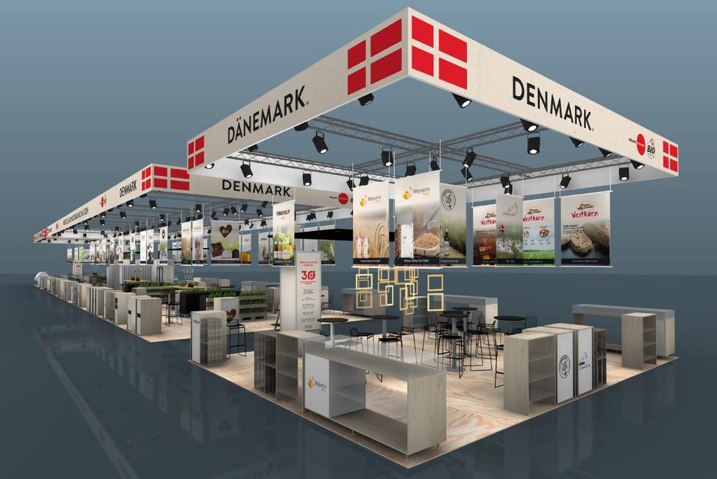 Organic Denmark and Bio aus Dänemark at BioFach 2020