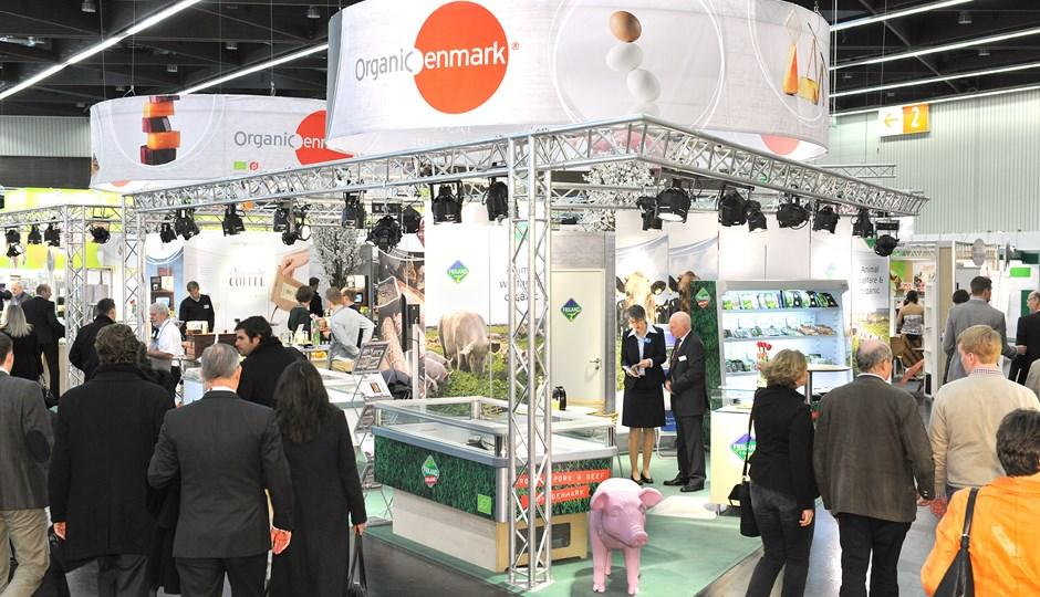 Organic Denmark attends the world's leading trade fair for organic food, BioFach