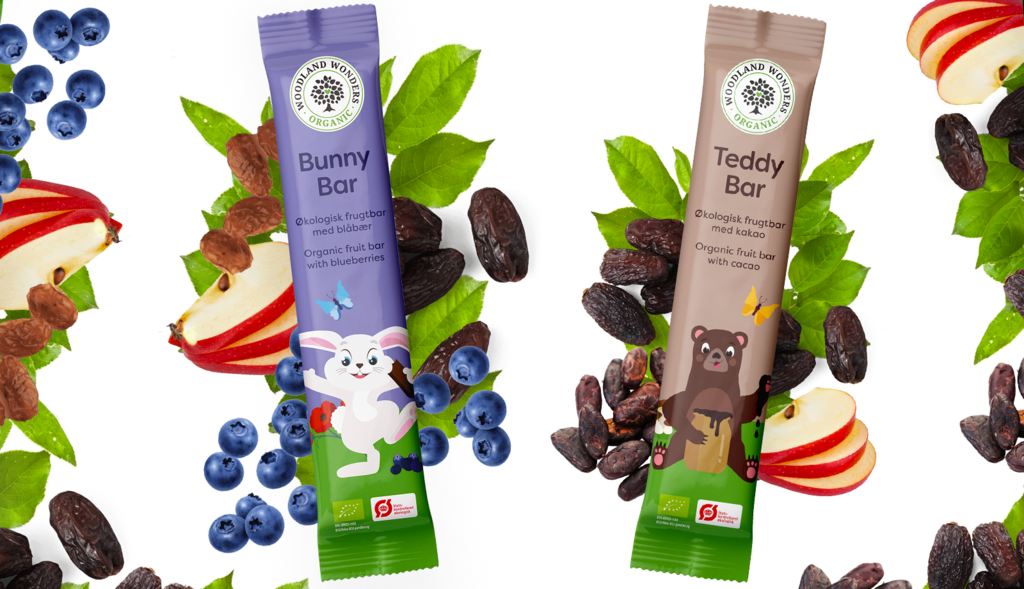 Woodland Wonders Organic Snack Bars