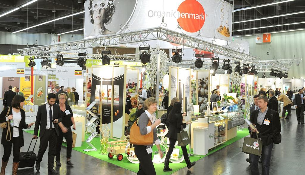 Global demand for organics increases
