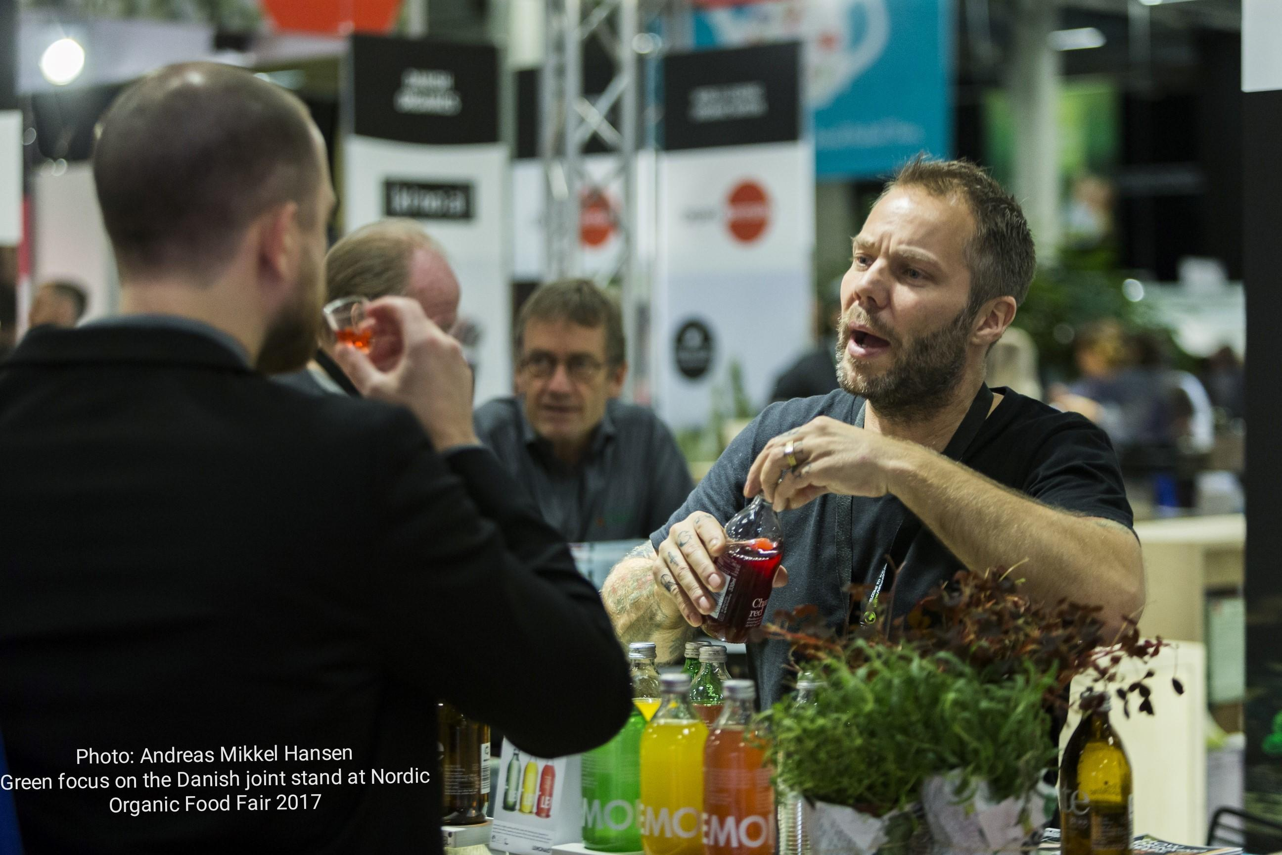 "<h3 class=""headline-height"">NORDIC ORGANIC FOOD FAIR</h3><div class=""box-height"">Nordic Organic Food Fair is a two-day event that takes place on 13-14 November 2019 in Malmö, Sweden. It is a smaller organic fair with approximately 5.000 visitors from retail, wholesale and foodservice. Also, in 2019 Organic Denmark participates in Nordic Organic Food Fair hosting the joint stand for Danish companies. </div>"