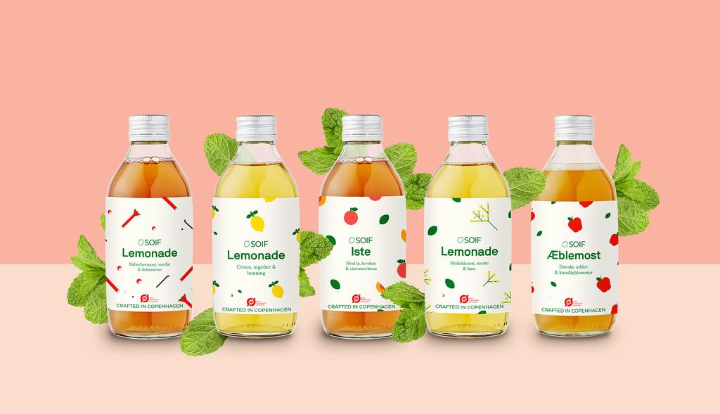 New organic crafted lemonades
