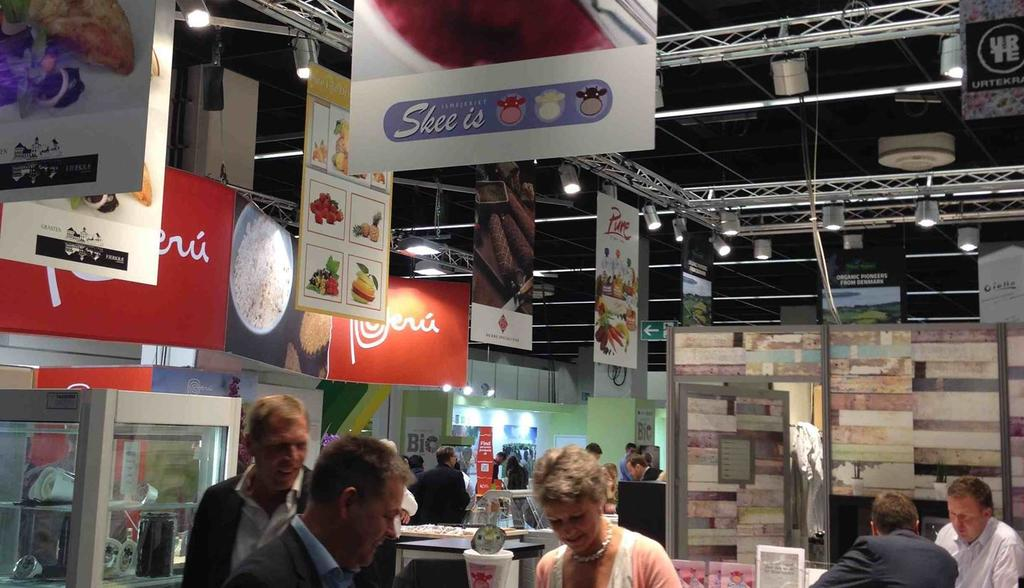 Danish organic companies participating at ANUGA