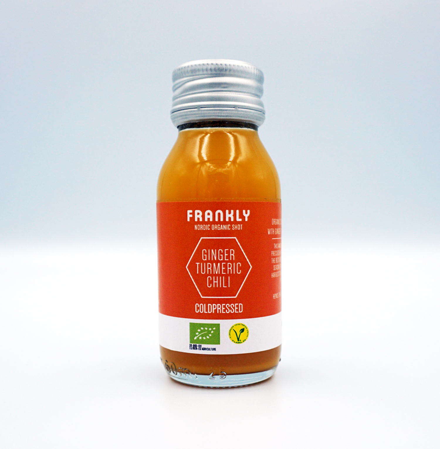 FRANKLY Nordic Organic – Ginger, Turmeric & Chili - 60 ml