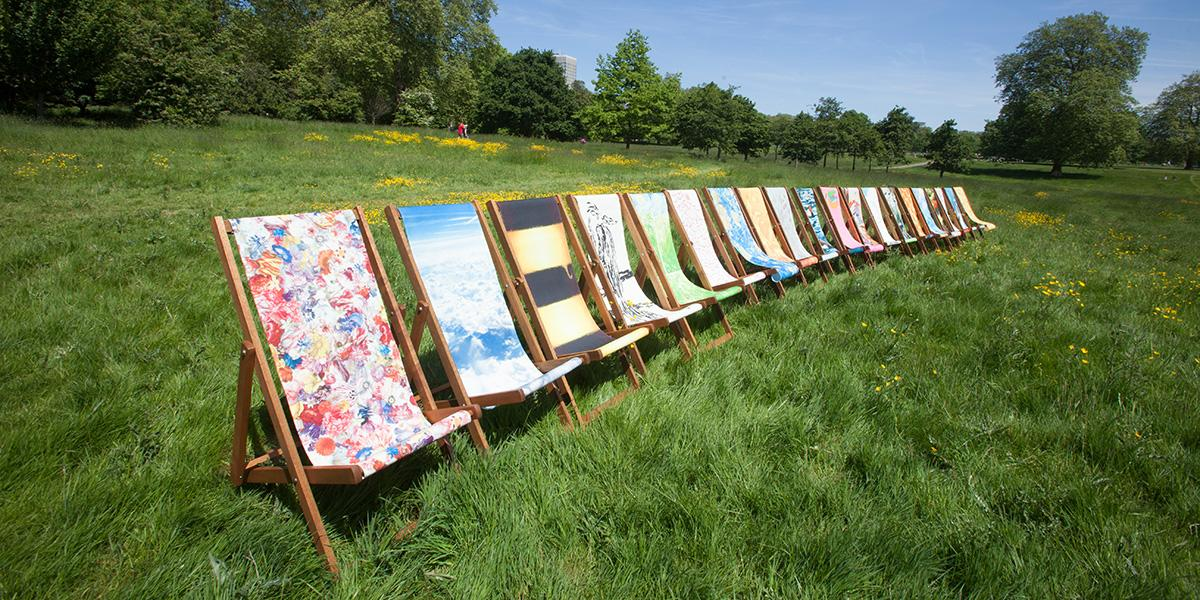 Our deckchairs are perfect all year round