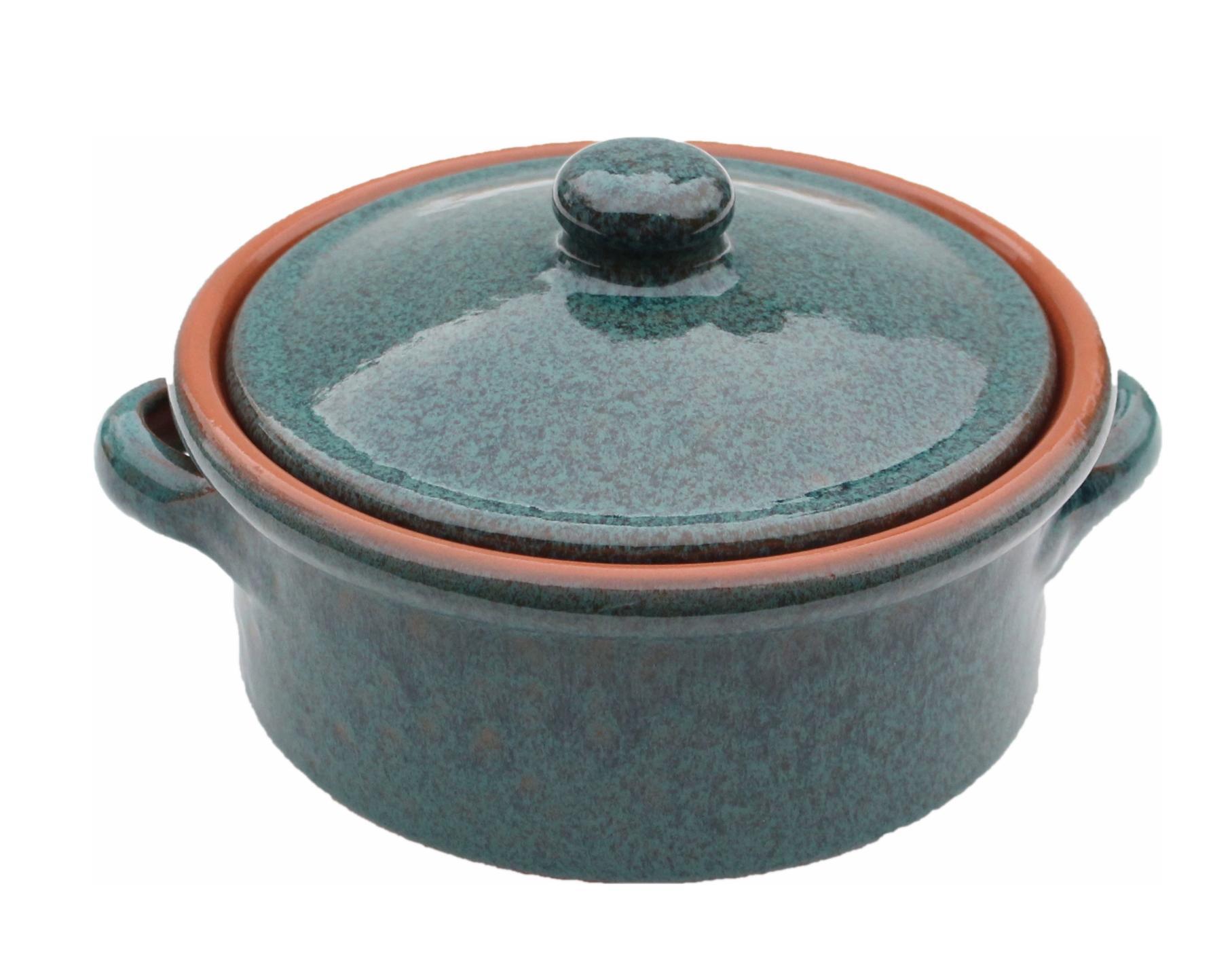 Reactive Blue Amazing Cookware 25cm Terracotta Tagine