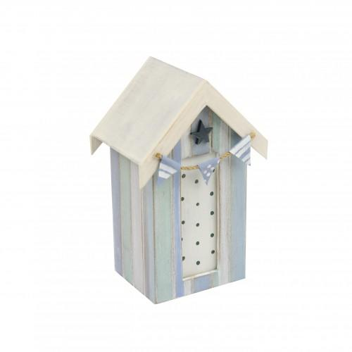 Beach hut money box star