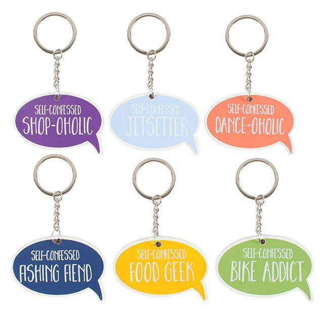 all about you keyring
