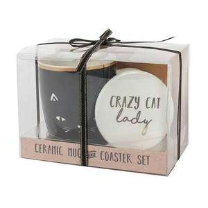Crazy Cat Lady Mug set