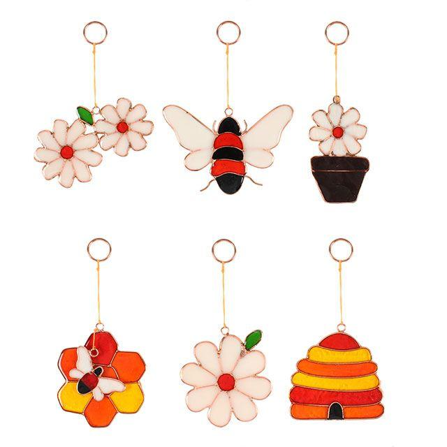 bee-utiful sun catchers