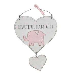 baby girl sign