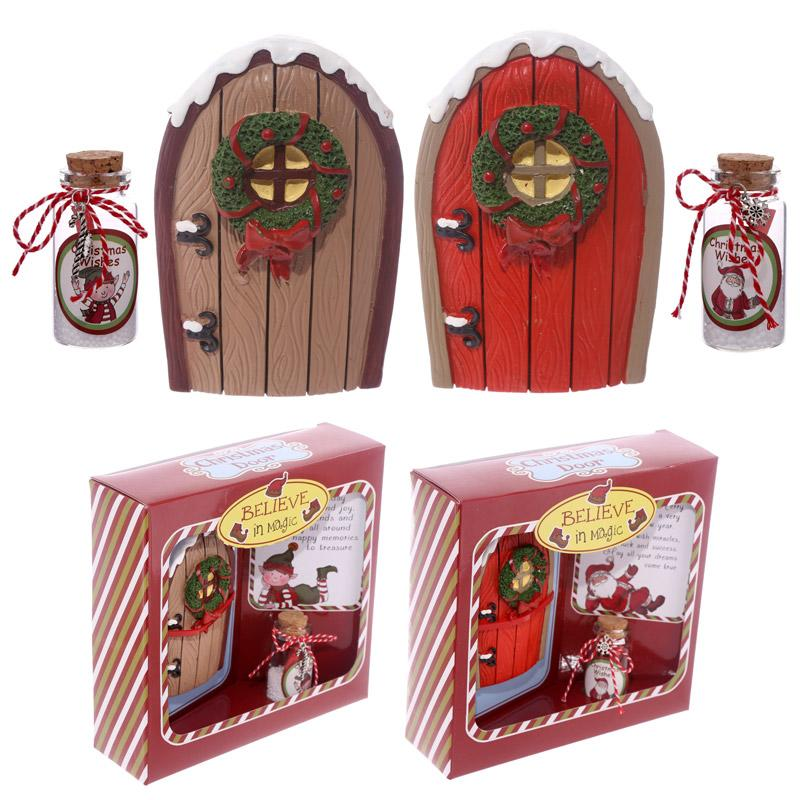 Christmas elf door decorations