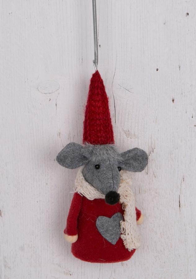 fabric mouse springy decoration