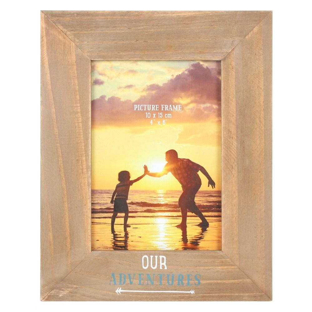 our adventures picture frame