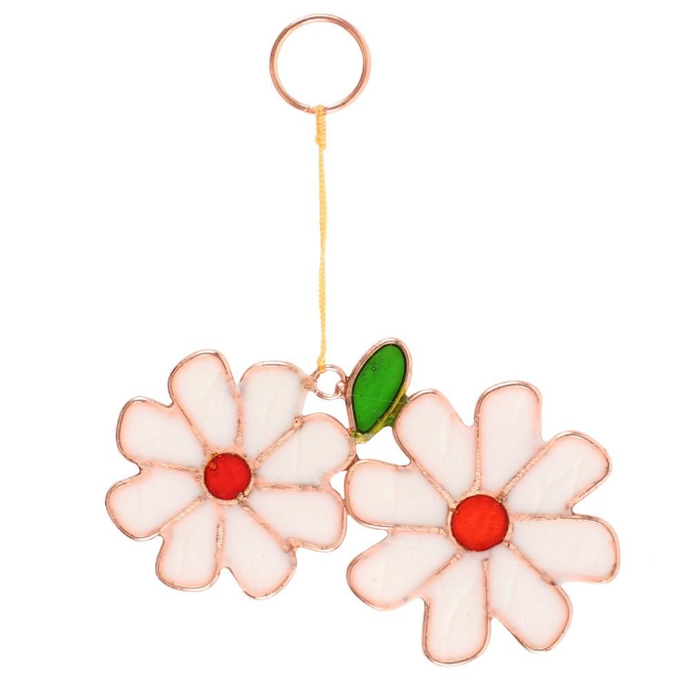 Double daisy sun catcher