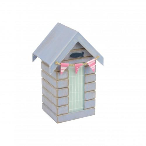 Beach hut money box fish