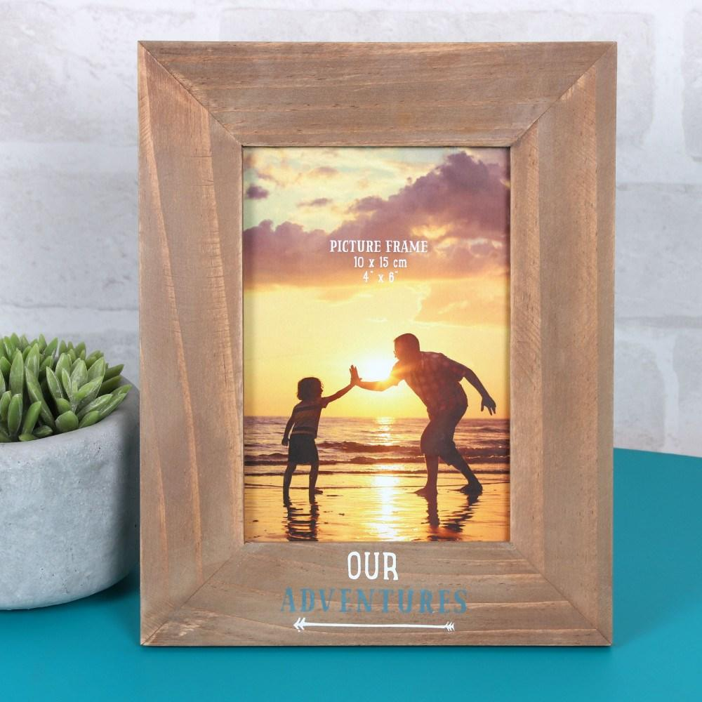 our adventures photo frame